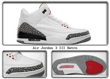 new styles 8719c 67834 Air Jordan III (3) Retro-5