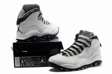Air Jordan X (10) Retro Steel 2013