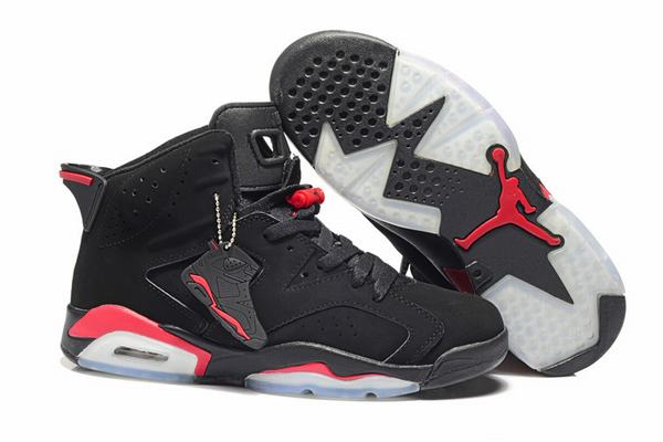 Air Jordan VI (6) Retro Black Red-114