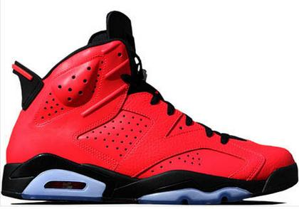 Air Jordan VI (6) Retro Toro Infrared 23