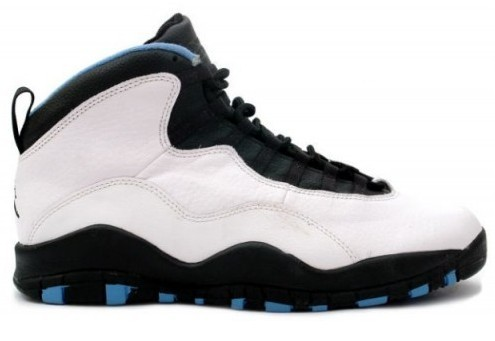Air Jordan X (10) Retro Powder Blue