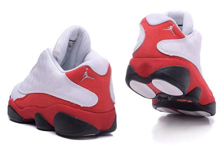 air jordan 13 white red