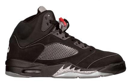 5c512d084acd10 Nike Jordan 5 Retro Black Metallic 2016