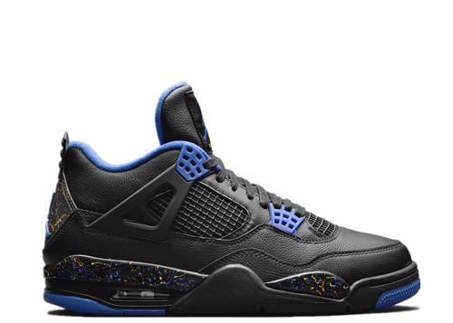 official photos 7b09f 4521e Air Jordan 4 Retro Wings Black Blue